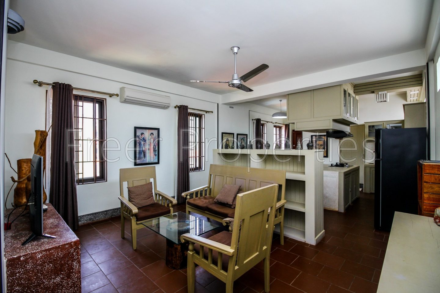 Two bedroom serviced apartment for rent BKK 2
